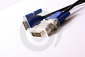 DVI/D-SUB Adapter Stock Images - Image: 18694244