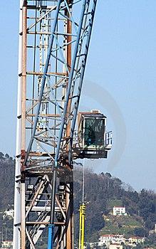 Crane Stock Image - Image: 18695341