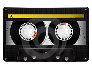 Vector Audio Cassette Stock Images - Image: 18695984