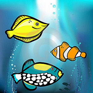 Fish Graphic  Stock Images - Image: 18697214