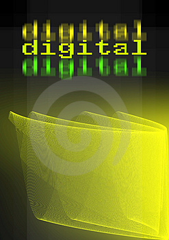 Abstract digital background Royalty Free Stock Photo