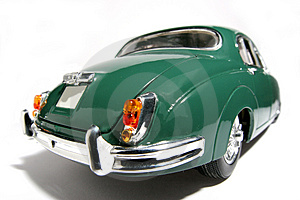 1959 Jaguar Mark 2 Metal Scale Toy Car Fisheye #3 Stock Photos - Image: 1873423