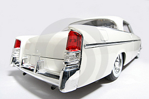 1956 Chrysler 300B Metal Scale Toy Car Fisheye #2 Royalty Free Stock Images - Image: 1873519