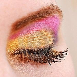 Female Eye With Make Up Stock Image - Image: 18700351