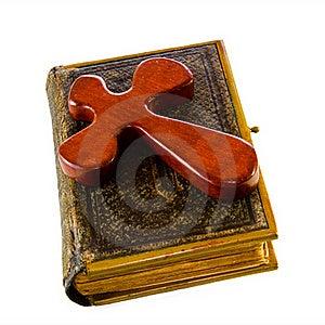 Bible And Cross Stock Photos - Image: 18700413