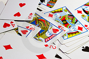 Playing Cards Royalty Free Stock Images - Image: 18700439