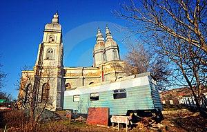Romanian Monastery Royalty Free Stock Photography - Image: 18700907