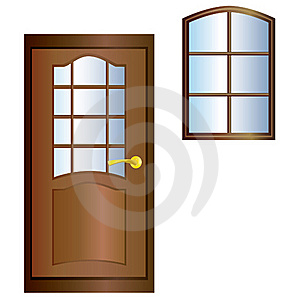 Door And Window. Stock Photography - Image: 18704972