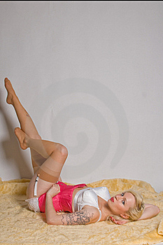 Pin Up Girl Stock Images - Image: 18707054