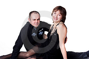 Portrait Of A Beautiful Young Happy Smiling Couple Stock Photography - Image: 18712442