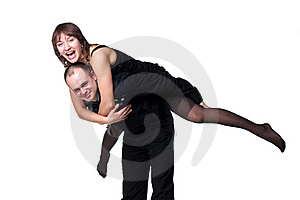 Portrait Of A Beautiful Young Happy Smiling Couple Stock Images - Image: 18712534