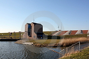 Drainage Pumping Station Royalty Free Stock Photo - Image: 18712595