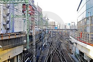 Railway Tracks Royalty Free Stock Photography - Image: 18718337