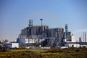 Industrial Plant Royalty Free Stock Photography - Image: 18719167