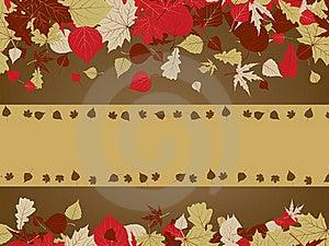 Art Autumn Vintage Background. EPS 8 Royalty Free Stock Images - Image: 18720389