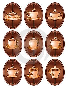 Coffee Web Icon Royalty Free Stock Photos - Image: 18720948