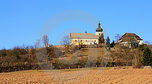 Church On The Hill Stock Image - Image: 18721001