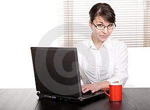 Businesswoman Stock Image - Image: 18721481