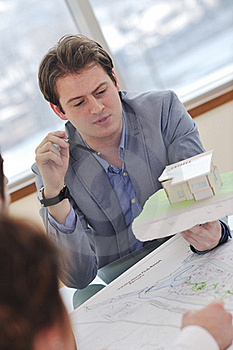 Architect Business Team On Meeting Royalty Free Stock Photos - Image: 18723208