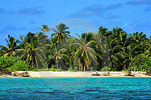 Maldives: Tropical island Stock Photos