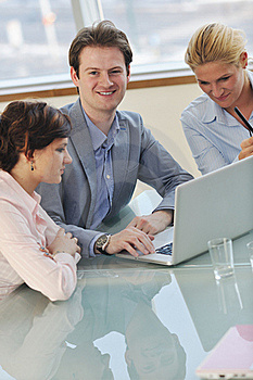 Business People At Meeting Royalty Free Stock Photos - Image: 18729878