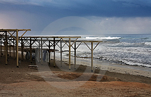 Autumn In The Beach Royalty Free Stock Photo - Image: 18730405