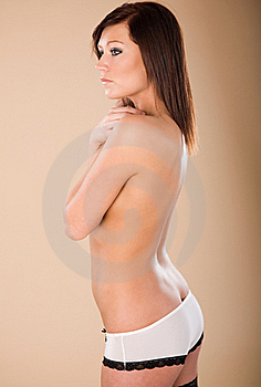 White Panties Royalty Free Stock Photos - Image: 18731298