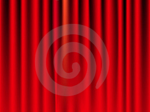 Colored Curtain Royalty Free Stock Photos - Image: 18732508