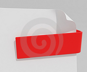 Red Clip Royalty Free Stock Photography - Image: 18734087