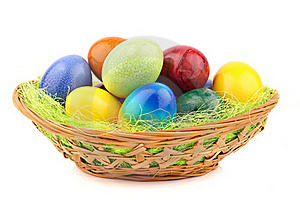 Easter Nest 1 Royalty Free Stock Images - Image: 18736419