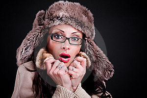 Attractive Girl Royalty Free Stock Photo - Image: 18737925