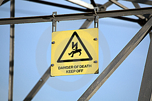 Danger Of Death Stock Photo - Image: 18739230