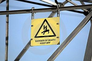 Danger Of Death Stock Photo - Image: 18739230