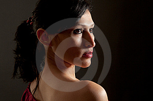 Stunning Hispanic Woman Royalty Free Stock Image - Image: 18741216