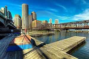 Boston Financial District Stock Photo - Image: 18741370