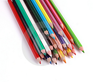 Pencils Colors Royalty Free Stock Photos - Image: 18742218