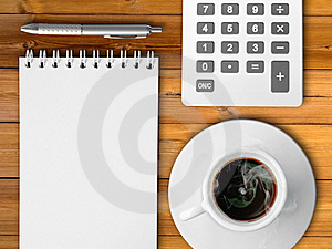 Cup Of Hot Coffe Royalty Free Stock Photos - Image: 18743688