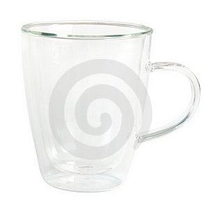 Clear Glass Mug Stock Photo - Image: 18745410