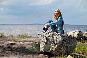 People: Tourist In Finland Stock Photo - Image: 18746850