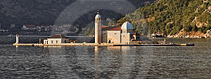 Montenegro: Monastery In The Bay Of Kotor Royalty Free Stock Image - Image: 18746926