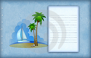 Vacation Background Royalty Free Stock Images - Image: 18747689