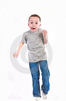 Boy On White Stock Photos - Image: 18747733