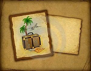 Travel Illustration Stock Photo - Image: 18748890