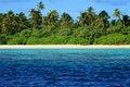 Maldives: Paradise Island Royalty Free Stock Photography