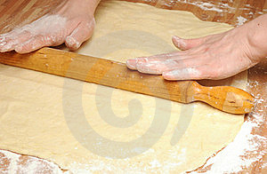 Rolling Dough Royalty Free Stock Images - Image: 18750529