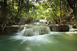 Mae-Ka-Min Waterfall Stock Photography - Image: 18751622