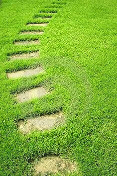 Way Curve Garden Royalty Free Stock Photo - Image: 18754215