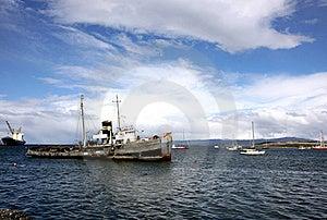 Ushuaia Harbour, Argentina Royalty Free Stock Photos - Image: 18755728