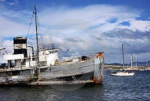 Ushuaia Harbour, Argentina Royalty Free Stock Photos - Image: 18755748