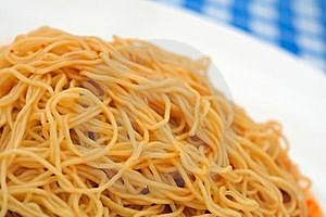 Plain Noodles As Food Ingredient Royalty Free Stock Photography - Image: 18757587